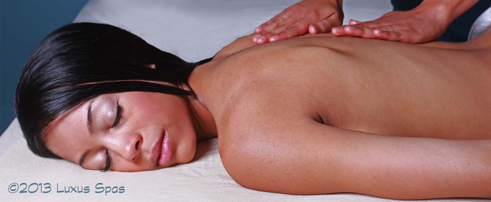 Massage at Luxury Spa